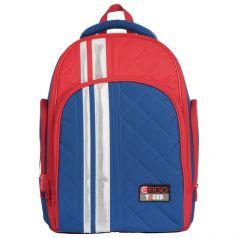 TIGER FAMILY Ортопедический школьный рюкзак (сине-красный)