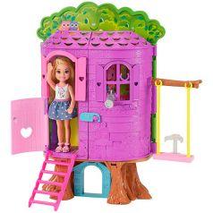 Mattel Игровой набор Barbie Домик на дереве Челси