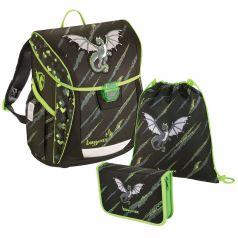 Hama Школьный ранец BaggyMax Fabby Dragon с наполнением