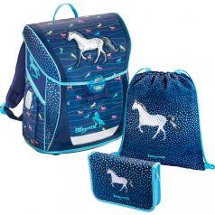 Hama Школьный ранец BaggyMax Fabby Modern Horse с наполнением