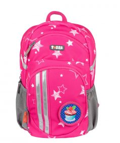 TIGER FAMILY Рюкзак для мальчика Twinkle stars розовый