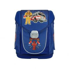 Mag Taller Ранец школьный Ezzy III Firefighter с наполнением (синий)