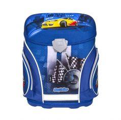 Mag Taller Ранец школьный J-flex Racing с наполнением (синий)