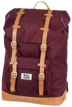 Schneiders Рюкзак для подростков Walker Liberty Concept Dark Red бордовый