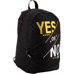 GoPack Рюкзак для подростков Yes or No черный