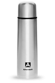 Арктика Термос 1 литр с узким горлом серебряный