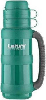 LaPlaya Термос Traditional 1 л со стеклянной колбой зеленый