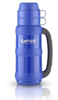 LaPlaya Термос Traditional 1 л со стеклянной колбой ярко-синий
