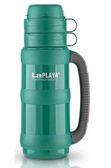 LaPlaya Термос Traditional 1,8 л со стеклянной колбой зеленый