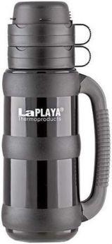LaPlaya Термос Traditional 1,8 л со стеклянной колбой черный