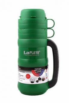 LaPlaya Термос Traditional 0,5 л со стеклянной колбой зеленый