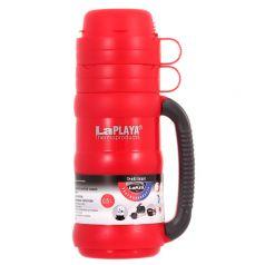 LaPlaya Термос Traditional 0,5 л со стеклянной колбой красный