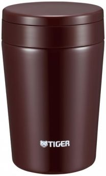 Tiger Термос для еды MCL-A038 Chocolate Brown 0,38 л коричневый