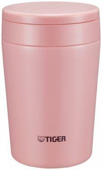 Tiger Термос для еды MCL-A038 Cream Pink 0,38 л розовый