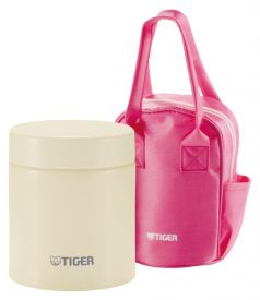 Tiger Термос для еды MCJ-A050 Cauliflower 0,5 л бежевый