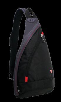 Wenger Детский рюкзак Mono Sling с одним плечевым ремнем черный