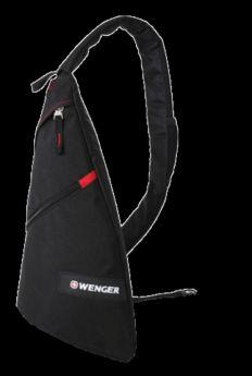 Wenger Детский рюкзак Sling bag с одним плечевым ремнем черный