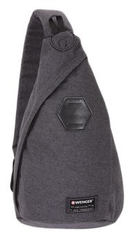 Wenger Детский рюкзак с одним плечевым ремнем серый