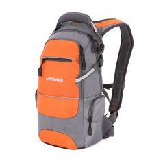 Wenger Городской рюкзак со светоотражающими элементами оранжево-серый