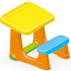 Dolu Парта со скамейкой желтая
