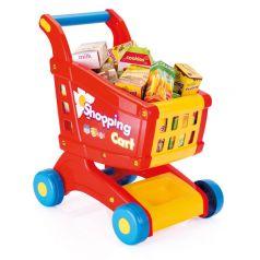 Dolu Тележка игрушечная с продуктами