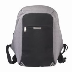 BRAUBERG Рюкзак для подростков с защитой от краж (серый)