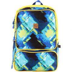 GoPack Рюкзак для подростков GО сине-желтый