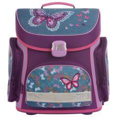 TIGER FAMILY Ранец для школы Denim Butterflies с наполнением
