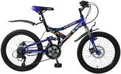 """Велосипед Top Gear Hooligan 225 20"""" синий ВН20038"""