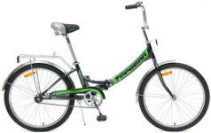 """Велосипед Top Gear Compact 50 24"""" черно-зеленый"""