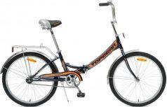 """Велосипед Top Gear """"Compact 50"""" 24"""" черно-оранжевый"""