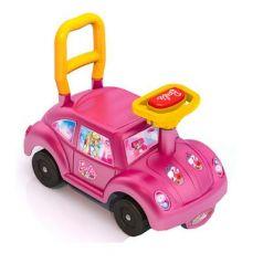 Каталка-машинка Нордпласт Барби пластик от 1 года на колесах розовый  431003