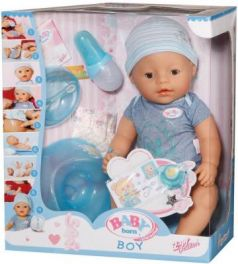 Кукла ZAPF Creation Baby born мальчик 43 см пьющая плачущая