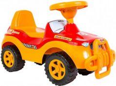 Каталка-машинка R-Toys ОР105к желтый от 8 месяцев пластик