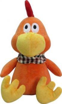 Мягкая игрушка-грелка петух Warmies Cozy Plush Петух текстиль оранжевый CP-CHI-1