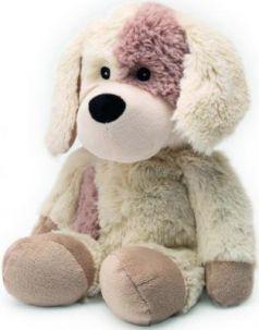 Мягкая игрушка-грелка собака Warmies Cozy Plush Собачка текстиль искусственный мех бежевый CP-PUP-2