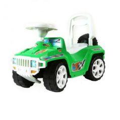 Каталка-машинка Orion Ориончик пластик от 1 года на колесах зеленый  419_зеленая