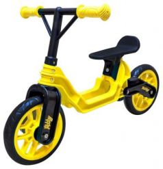 "Беговел RT Hobby bike Magestic 10"" желто-черный ОР503"
