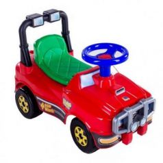 Каталка-машинка Molto Джип 62857 красный от 1 года
