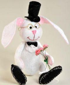 Набор для создания игрушки Перловка Ушастый джентльмен от 6 лет ПФЗД-1006