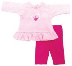 Одежда для куклы Mary Poppins 38-43см, туника и легинсы Корона 211
