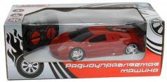 """Машинка на радиоуправлении 1toy """"Супер кар"""" пластик от 3 лет красный коробка Т59298"""