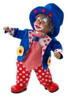 """Кукла Arias """"Клоун"""" 38 см"""