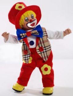 Кукла Arias Клоун 50 см
