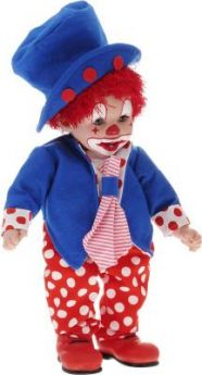 Кукла Arias Клоун 50 см мягкая