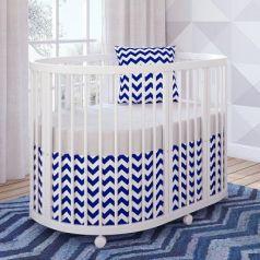 Кроватка овальная 120х90см Giovanni Shapito TreeO (white)