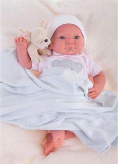 "Кукла-младенец Munecas Antonio Juan ""Реборн"" - Ника 40 см 8109"