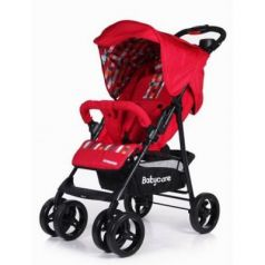Прогулочная коляска Baby Care Voyager (red 17)