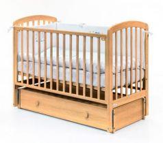 Кровать с маятником на колесах Fiorellino Tina (natur)