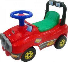 Каталка-машинка Molto Джип №2 красный от 1 года пластик 62888